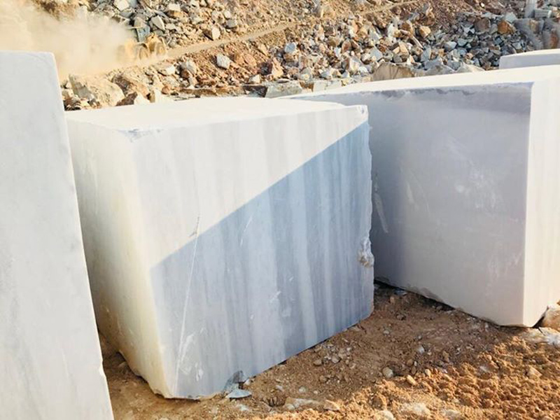 White Marble Natural Blocks Marmara Classic Blocks