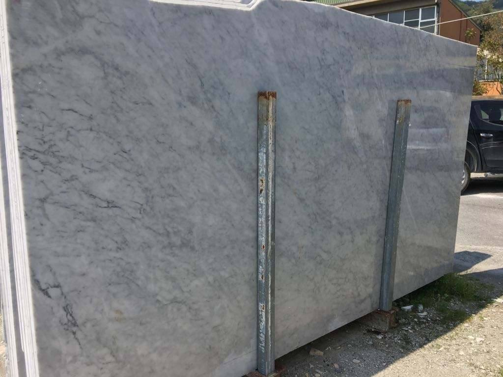 White Marble Polished Slabs Carrara Marble from Italy