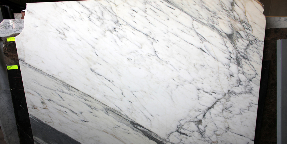 White Marble Slab Calacata Polished Marble Stone Slabs