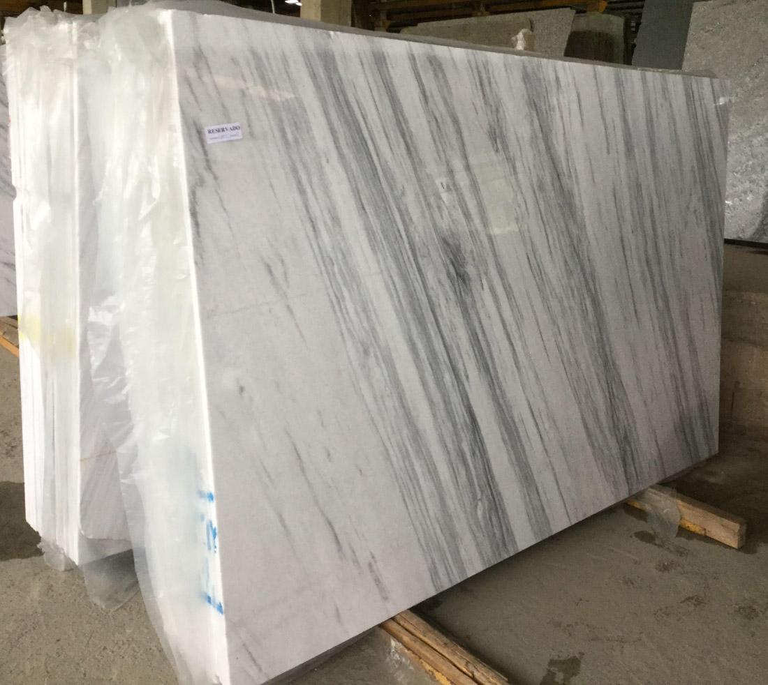 White Marble Slabs Brazilian Marble Shadow Stone Slabs