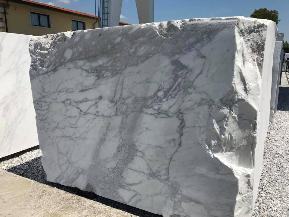 White Marble Stone Blocks Carrara White Blocks