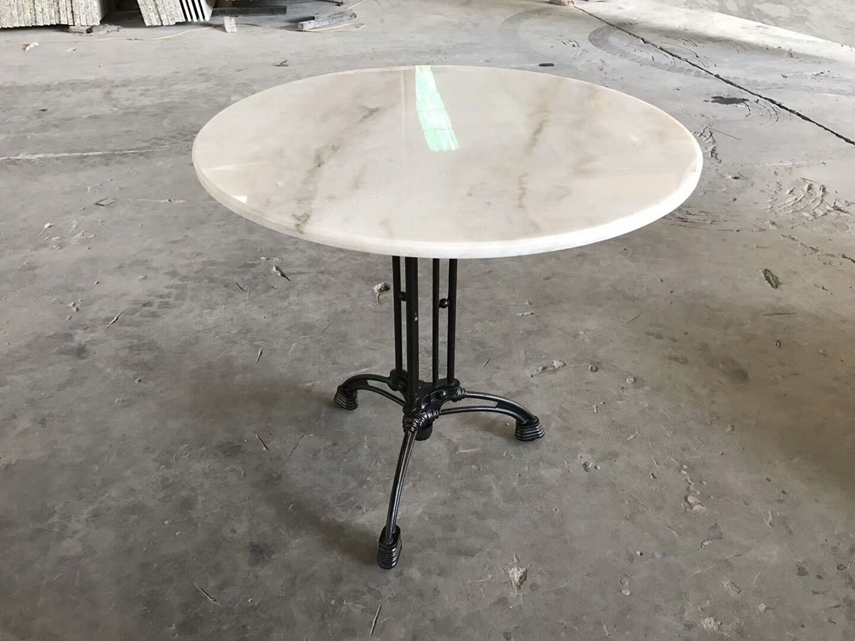 Guangxi White Marble Table Countertop