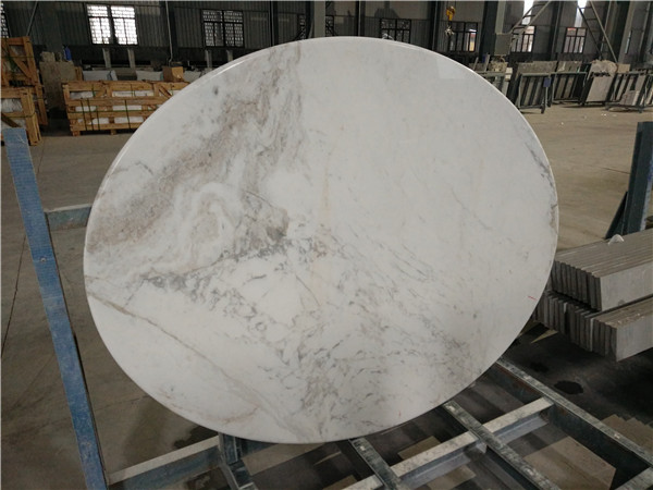 Volkas White Marble from Greece, Volkas White Marble Table Tops