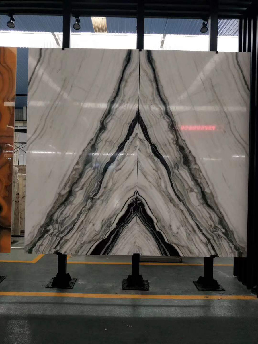 White Marble with Black Veins Marble Chinese Marble Slabs