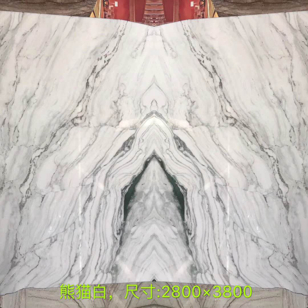 White Marble with Black Veins Marble Chinese Panda White Slabs