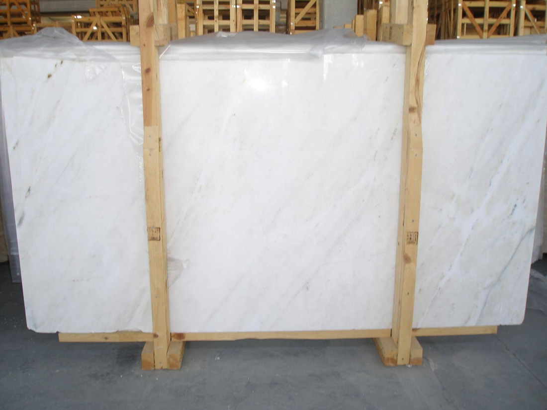 White Marmara Marble Slabs Polished White Marble Slabs