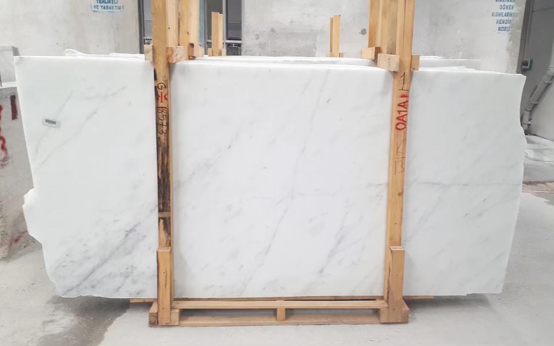 White Mugla Blanco Ibiza Marble Slab Top Quality White Marble Slabs