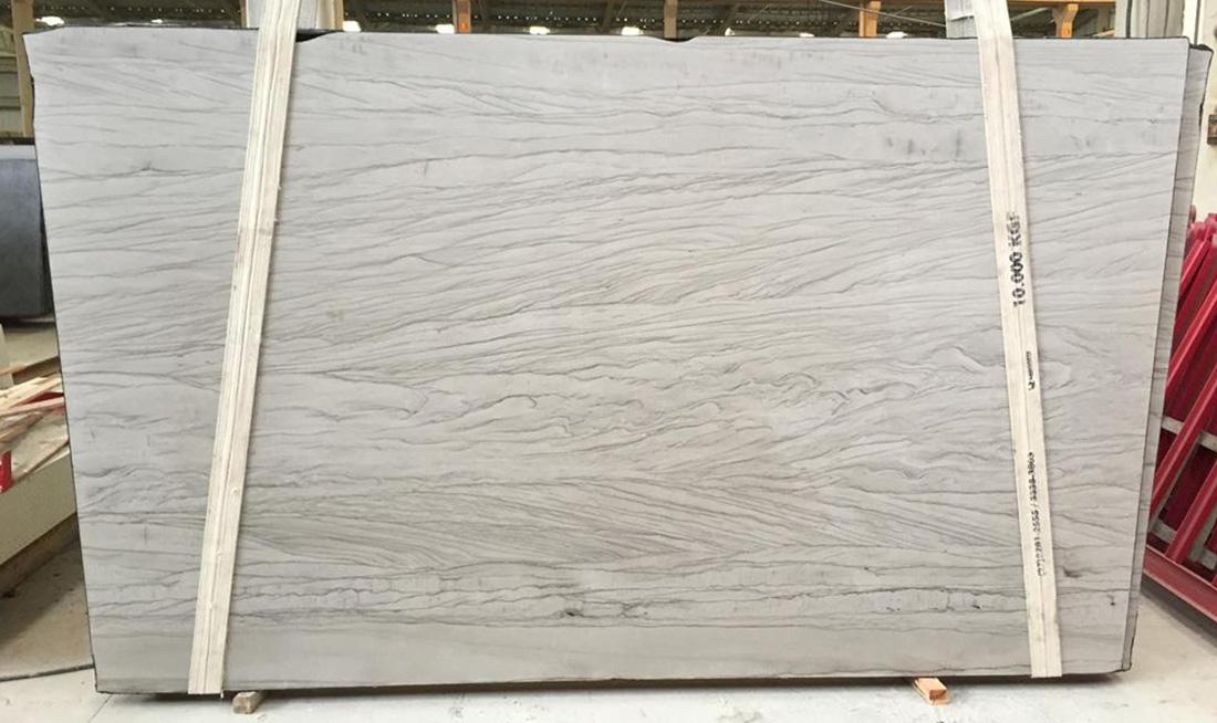 White Mustang Quartzite Slabs White Polished Quartzite Slabs