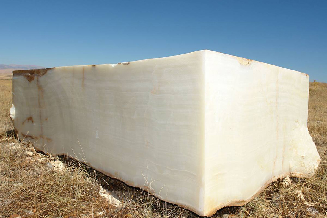 White Onyx Blocks Natural White Onyx Blocks