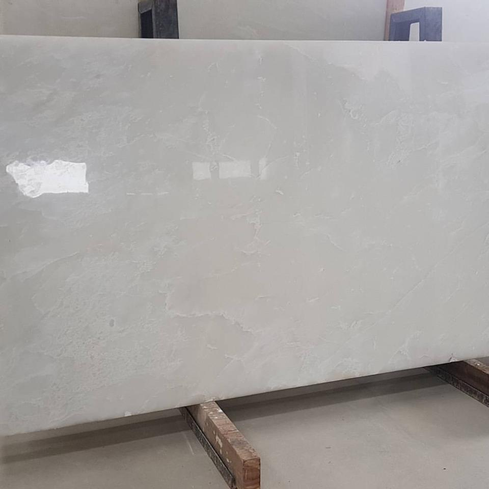 White Onyx Stone Polished White Onyx Slabs