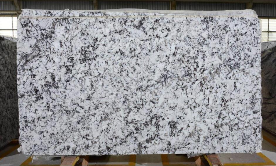 White Orion Granite Slabs Brazil Premium White Marble Slabs