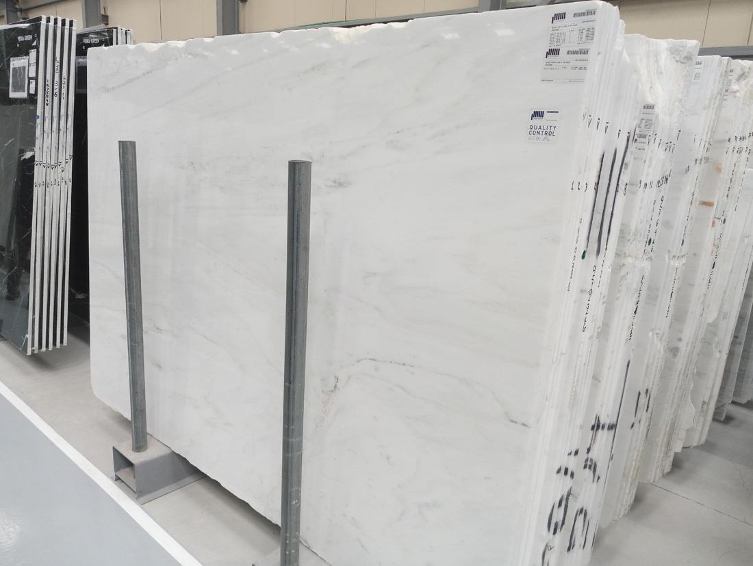 White Pentelikon Greek Marble Slabs
