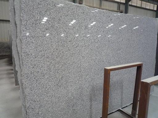 White Polished G640 Granite Slabs