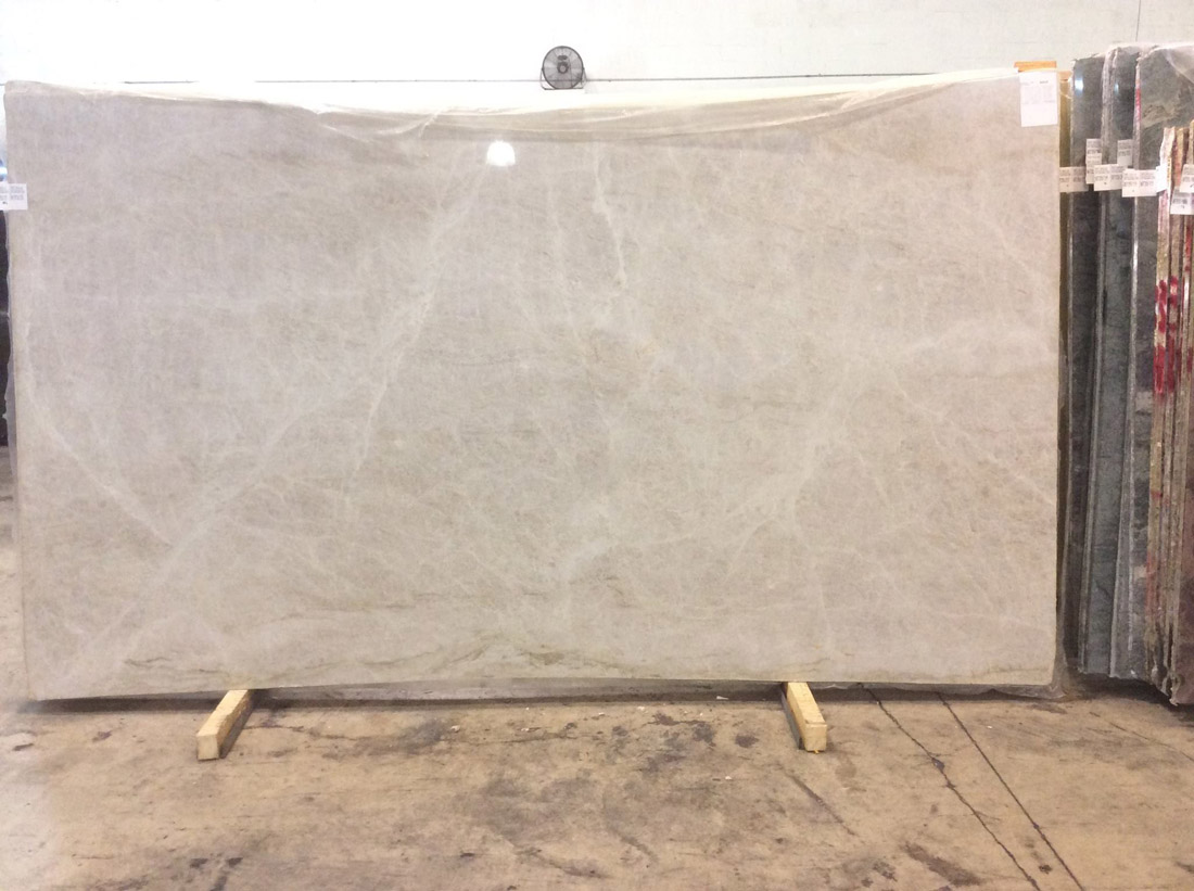White Polished Quartzite Slabs Taj Mahal Quartzite Slabs