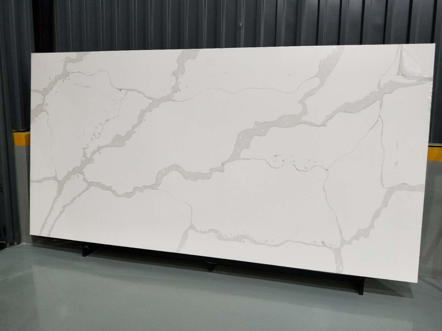 Calaeatta White Quartz Slab, Engineered Quartz Stone, Calacatte