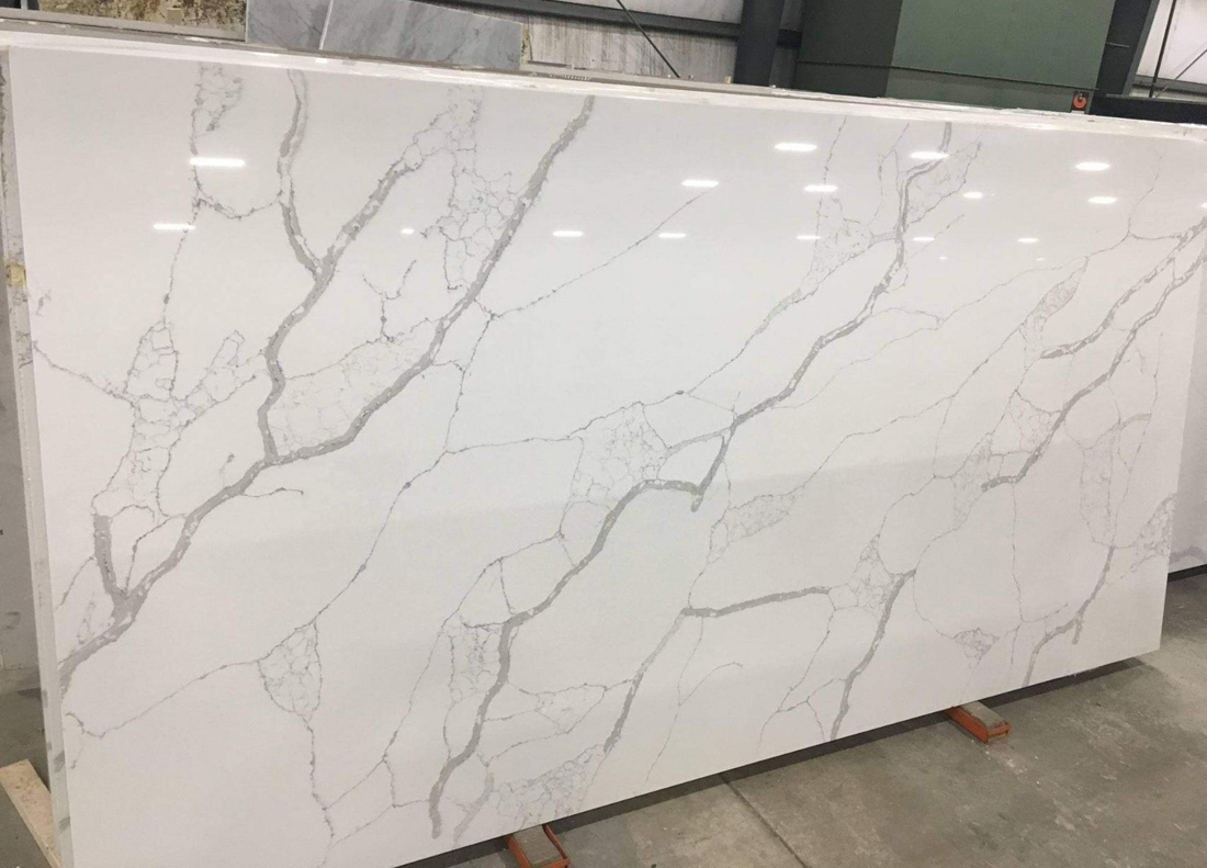 White Quartz Slabs Artificial Stone Slabs