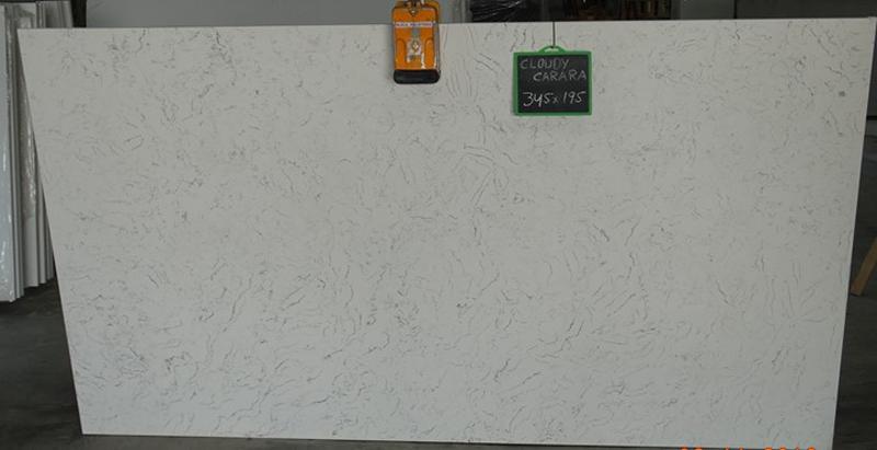 White Quartz Slabs from India