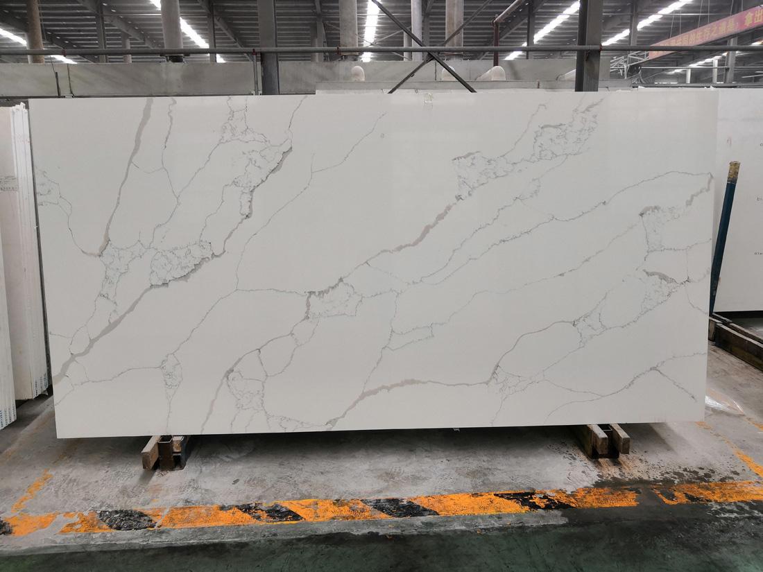 White Quartz Stone Slab from China