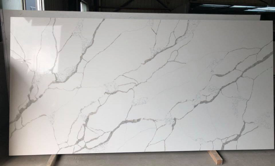 White Quartz Stone Slabs Artificial Slabs
