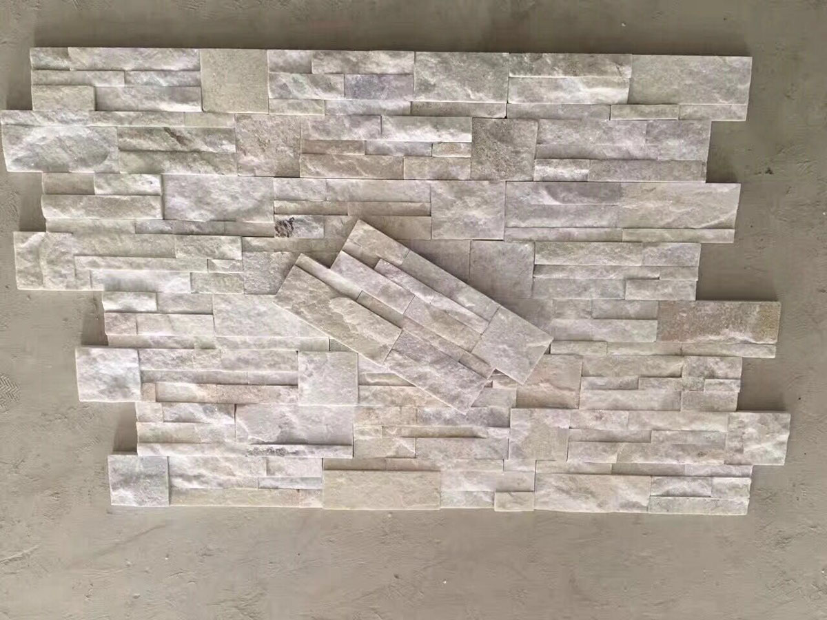 White Quartzite Culture Stone Wall Cladding