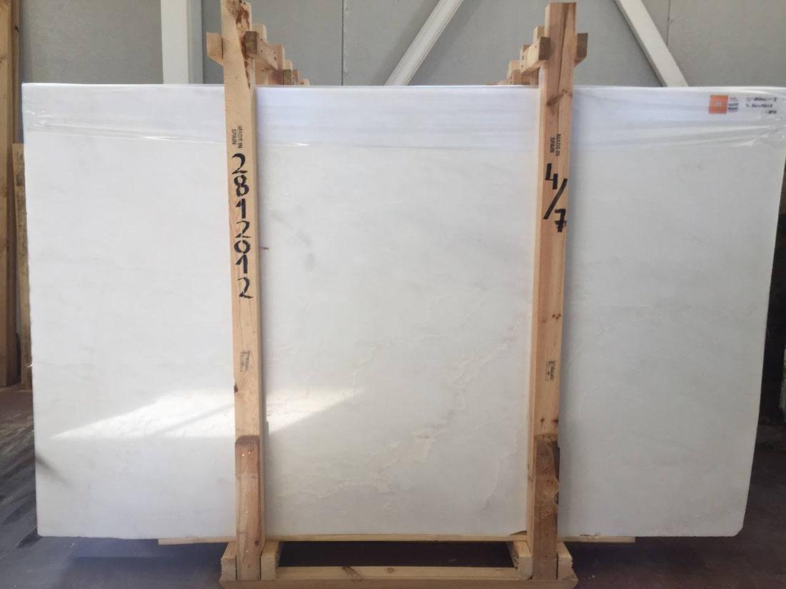 White Rhino Polished Marble Slabs