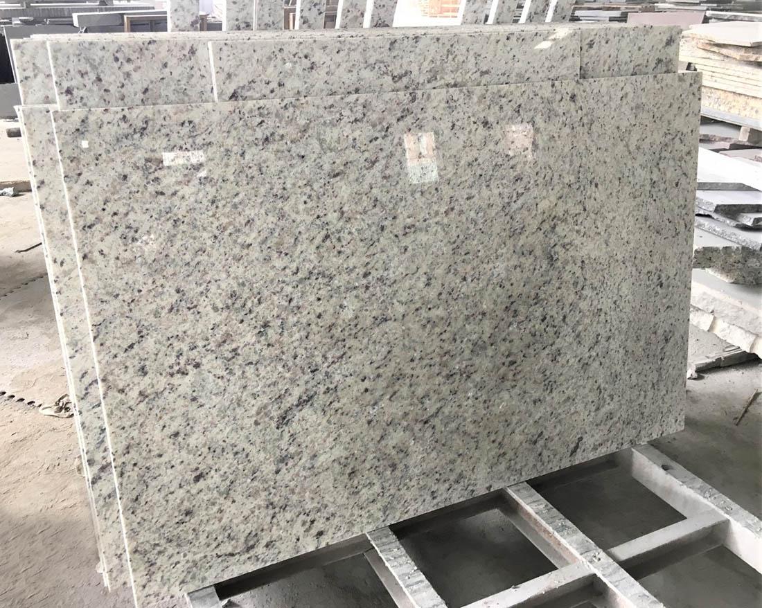 White Rose Granite Tile Polished White Granite Stone Tiles