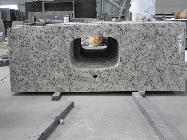 White Rose Granite Vanity Tops