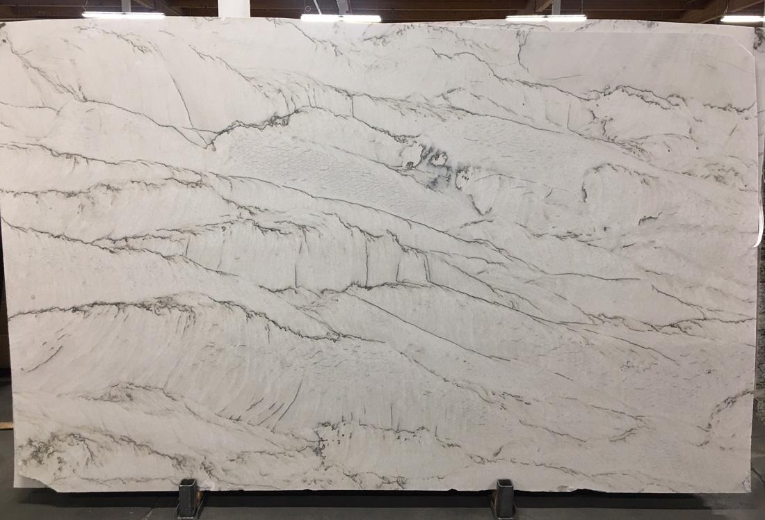 White Silk Leather Quartzite Stone Slabs Brazil Quartzite Stone Slabs
