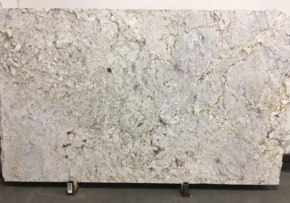 White Spring Leather Granite Slabs Brazil White Granite 3cm Slabs