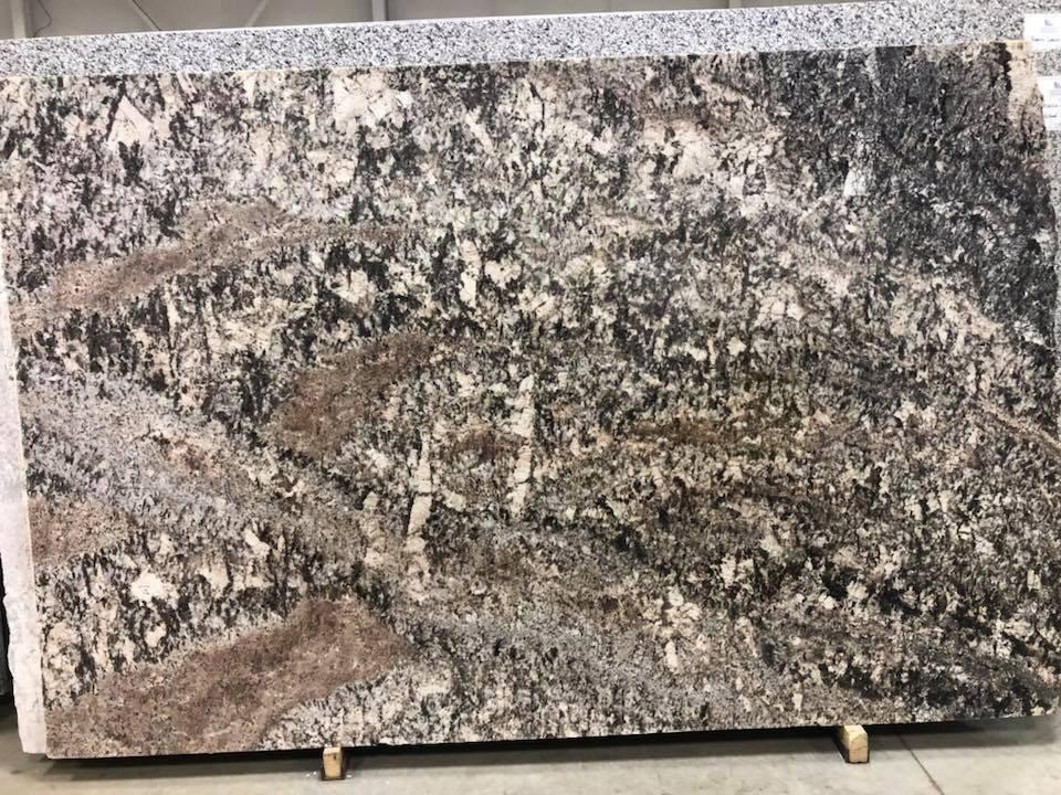 White Torroncino Granite Brazilian Granite Slabs
