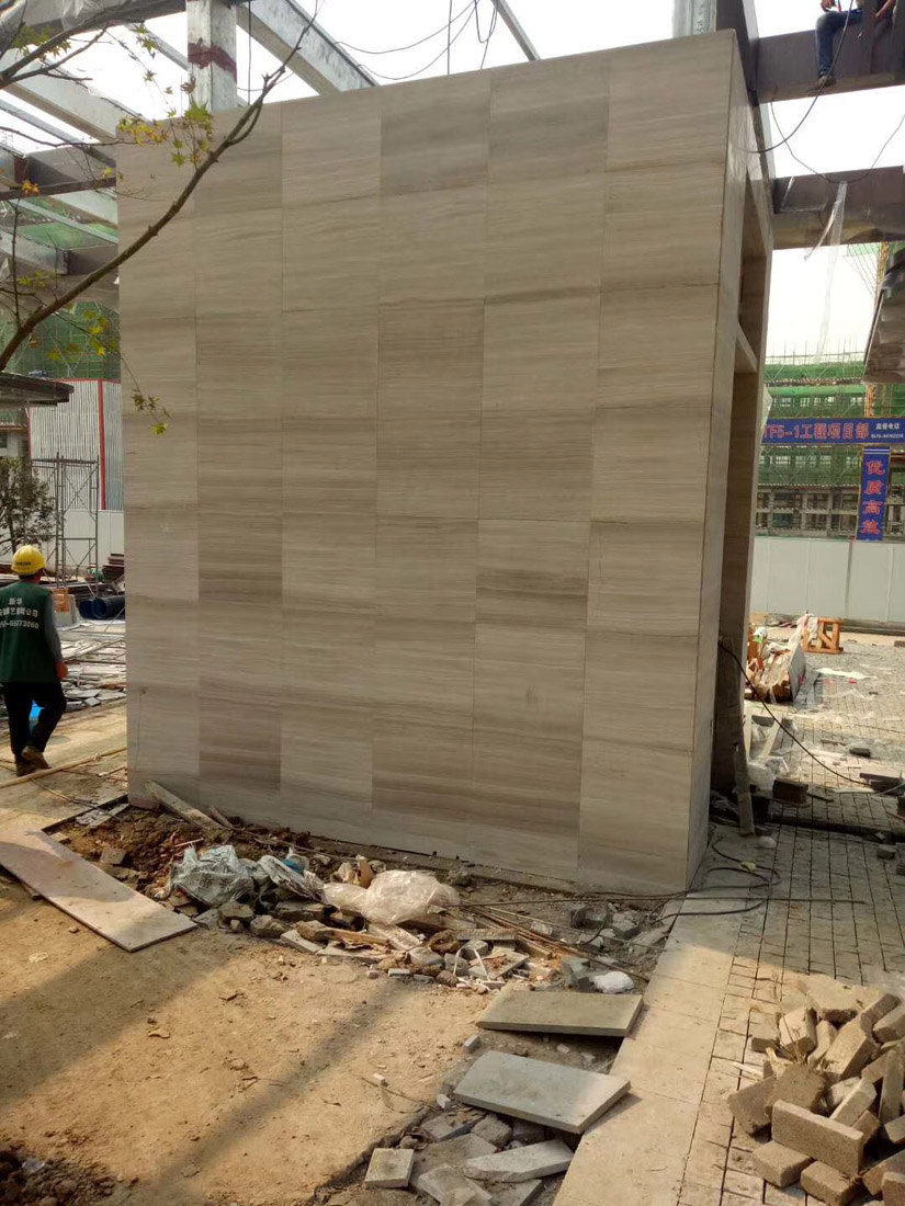 White Wood Marble Building Materials