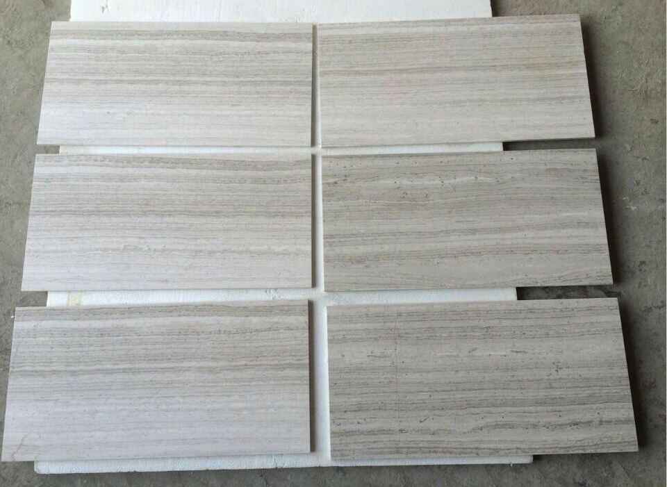 White Wood Marble Tiles Chinese Wooden Marble Flooring Tiles