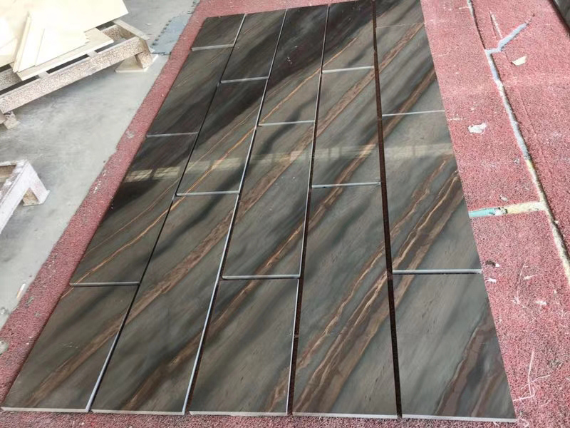 Wholesale Acquarella Elegant Brown Natural Quartzite Wall Tiles