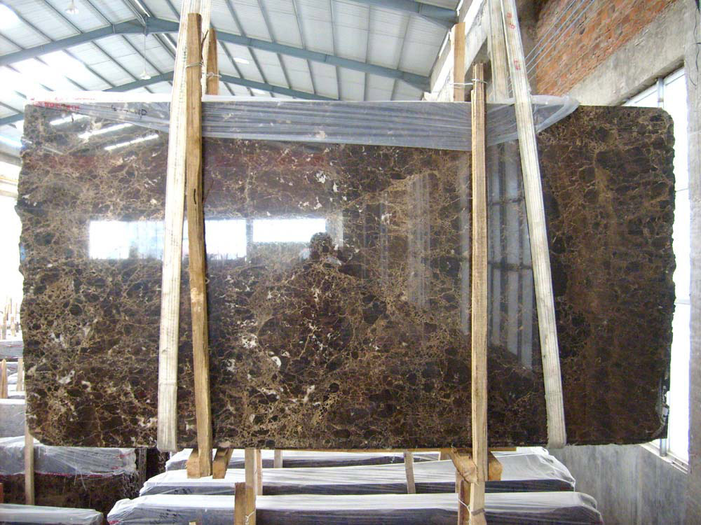 Wholesale Spanish Dark Castanho Emperador Brown Marble Slabs