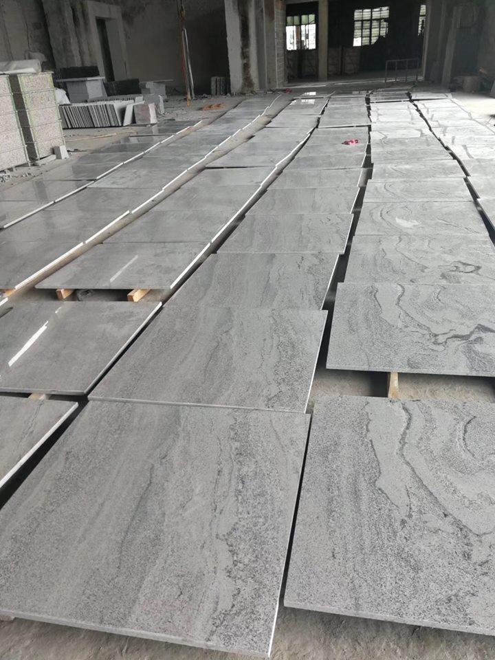Wisconsin White Granite Tiles Polished Granite Flooring Tiles