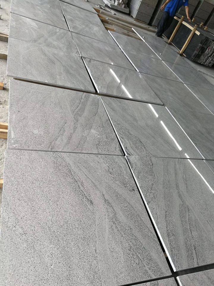 Wisconsin White Tile Polished White Granite Flooring Tiles