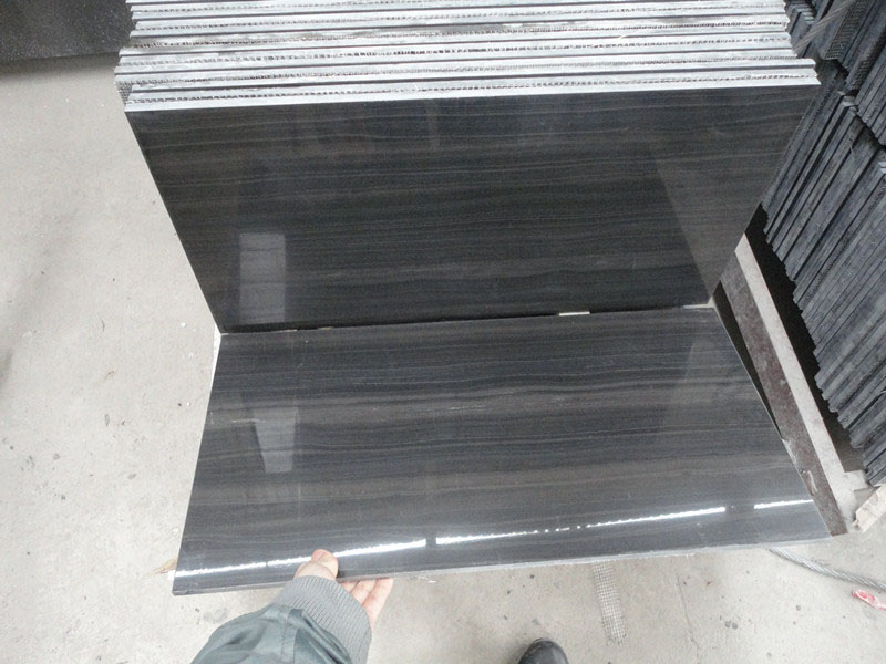 Wooden Black Marble Tiles China