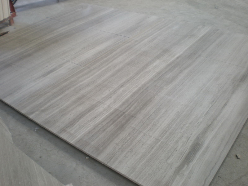 Wooden Grey Marble Polished Tiles