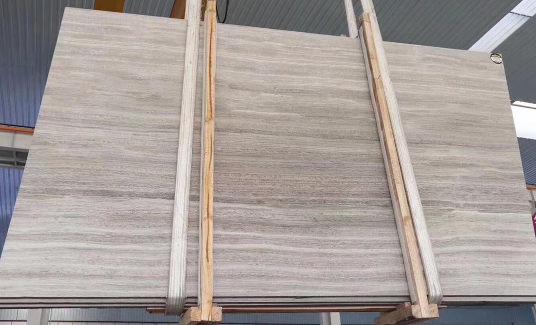 Wooden White Marble Slabs Chinese Wooden Marble Slabs
