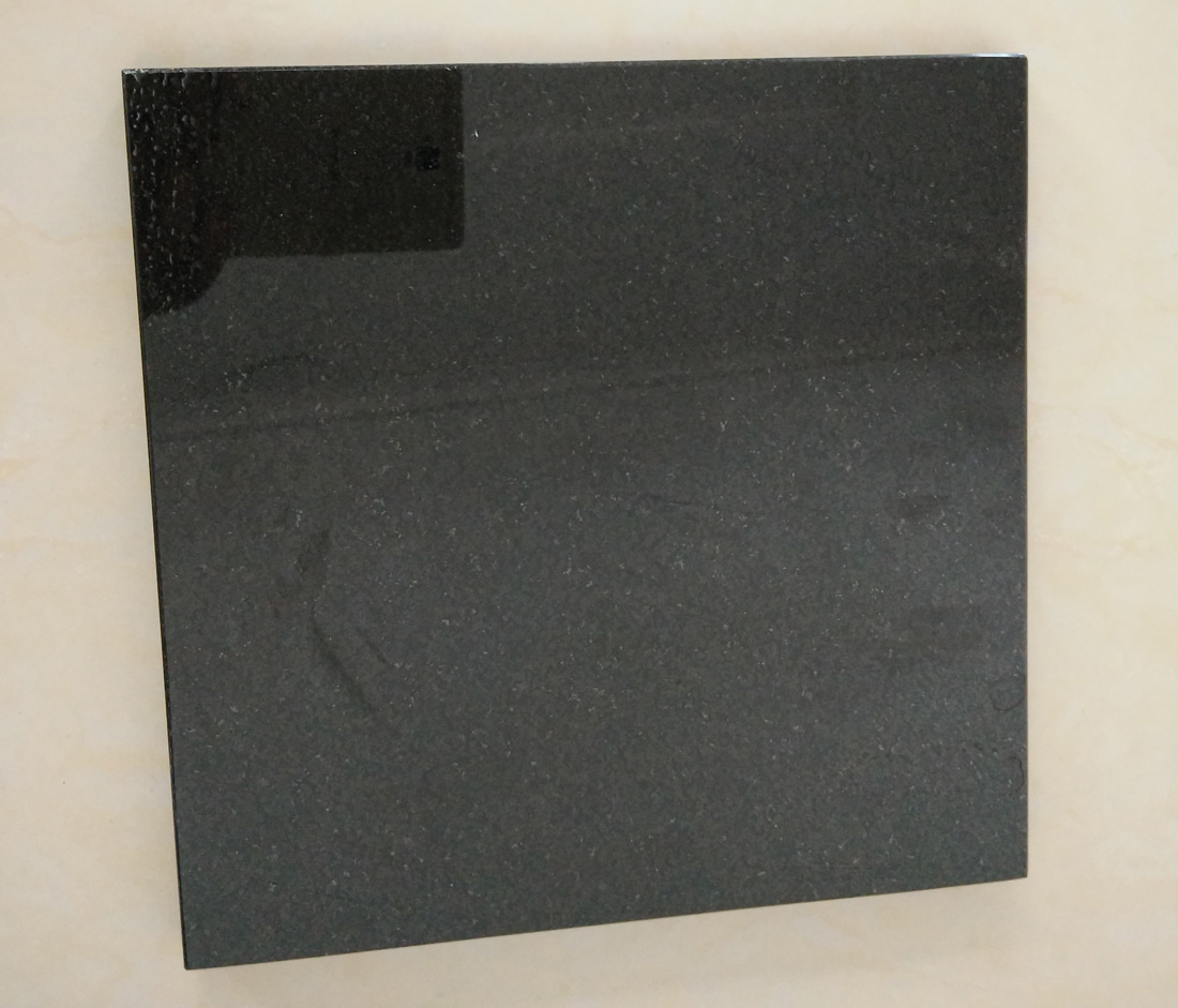 Xian Black Granite Polished Granite Tiles Flooring Tiles