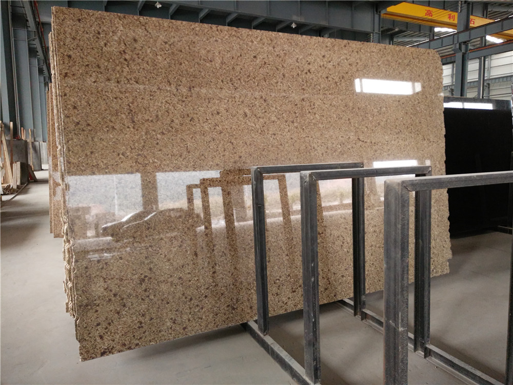 Yake Gold Granite Big Polished Granite Slabs