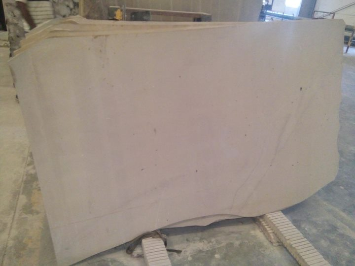Yelllow Color Limestone Unpolished Slabs