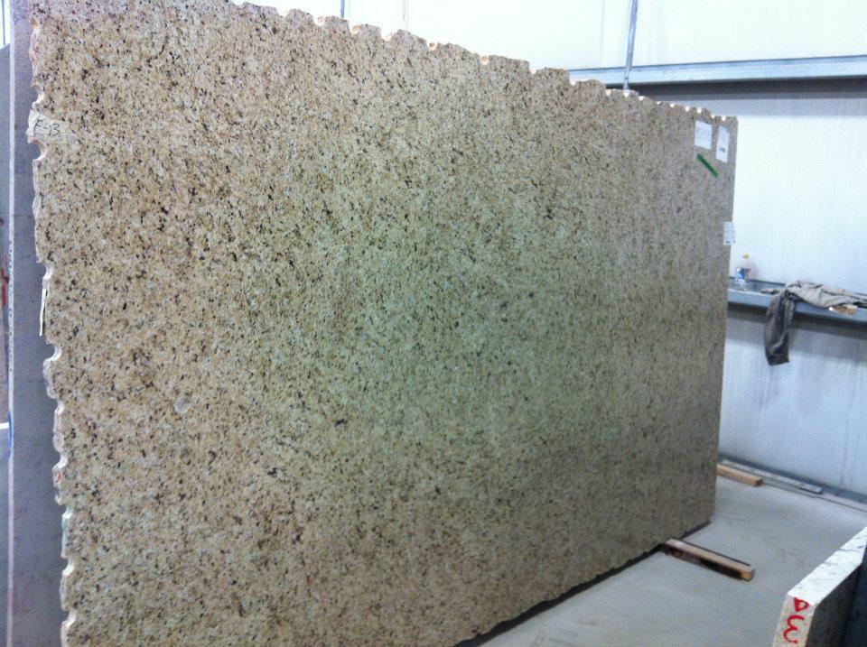 Yellow Giallo Ornamental Granite Slab