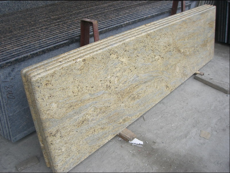 Yellow Granite Polished Countertops
