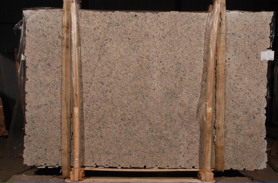 Yellow Icarai Granite Slabs for Kitchen Countertops