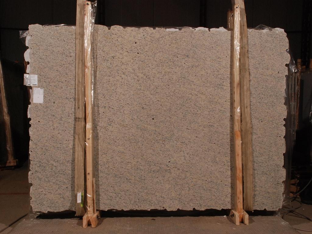 Yellow Icarai Vein Cut Granite Slabs Polished Granite Slabs