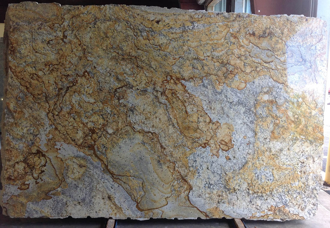Yellow River Extra Granite Slabs Top Quality