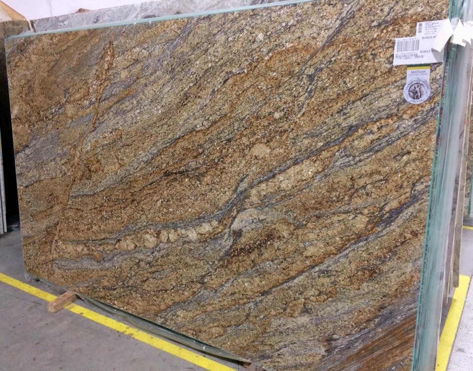 Yellow River Granite from Brazil