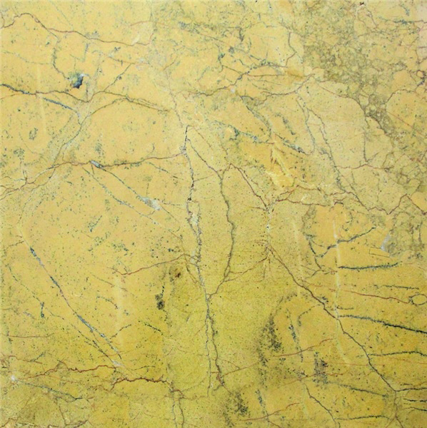 Yellow Spider Marble