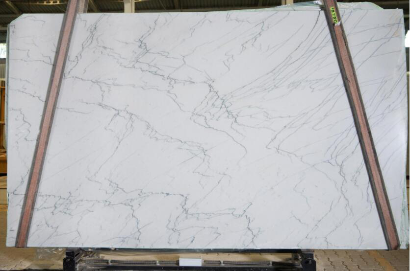 Yosemite White Quartzite Slabs Brazil White Quartzite Stone Slabs